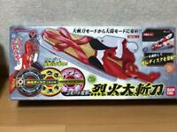 Power Rangers SAMURAI Shinkenger Rekka Daizantou Bandai Action Figure