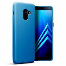 Galaxy A8 2018 Element caso Zero-Shock Gel Flexible precisión construir Azul