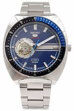 Seiko 5 Sports SSA327 Blue Dial Stainless Steel Men's Watch