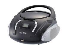 Reflexion CDR2250U Bk Vhf Radio with CD/MP3/USB/Aux-In Black