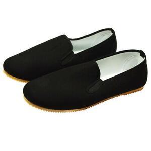 Kung Fu Tai Chi Schuhe mit heller Gummisohle auch für Wing Chun Tsun NEU