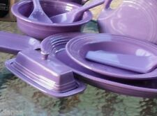 COVERED BUTTER DISH lilac NEW HOMER LAUGHLIN FIESTA