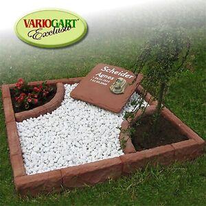 Urnengrab Grabeinfassung Grabmal Grabstein Urnenstein Einzelgrab