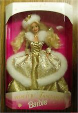 WINTER FANTASY Barbie with blonde hair mib 1995 vintage NRFB