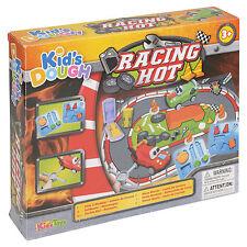 15pc Kids Play Pâte tubs & shaping ensembles de véhicules de compétition outils craft enfants Noël