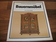 Anton Kugler -- BAUERNMÖBEL // Battenberg Antiquitäten-Katalog mit Preisen 1979