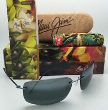 Rimless MAUI JIM Sunglasses FRIGATE MJ 716-06 Gunmetal Blue w/Neutral Grey Lens