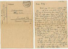 06532 - Feldpostbrief - 4.1.1943 nach Neustadt - Stabsapotheker Reserve-Lazarett