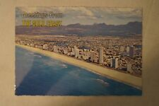 Greetings from The Gold Coast - Australia - Collectable - Vintage Postcard