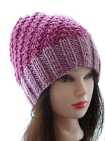 Hand Knitted Beanie Warm Women's Hat Australia Made
