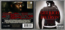 GET RICH OR DIE TRYIN'  Motion Picture Soundtrack ( CD - 2005 ) 50 CENT