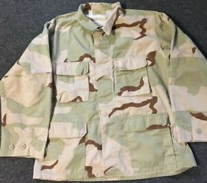 USGI Large Short Desert Camo Jacket Field BDU Army Navy Air Force DCU