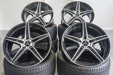 19 Zoll AX7 Alu Felgen für Mercedes CLC CLK CLS Klasse W208 W209 W219 AMG