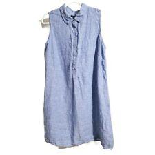 Linen Beach Shirt Dresses for Women for sale   eBay