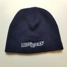 Wilmington Blue Rocks Beanie Minor League Baseball Blue Spell Out Hat M60