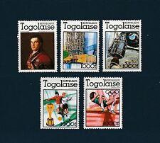 Togo  événement  de 1978 Goya Elizabeth II Apollo football JO  num: 924/28  **
