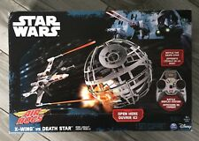 Star Wars Air Hogs X-wing vs Death Star NEW in Box
