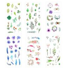 6 stk/satz Vintage Pflanzen mini papier aufkleber paket DIY tagebuch dekoration