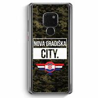 Nova Gradiska City Camouflage Kroatien Huawei Mate 20 Hülle Motiv Design Kroa...