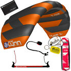 Peter Lynn Hype TR 1.9 M Foil Power Trainer Kite Kiteboarding 2-Line Control Bar