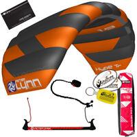 Peter Lynn Hype TR 1.9 M Foil Power Trainer Kite Kiteboarding 2-Line Control Bar