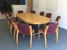 More details for boardroom table and chairs
