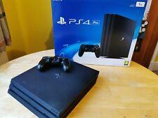 Sony Playstation 4 Pro 1TB consola de juegos-Negro, Extra Controlador En Caja.