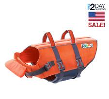 NEW Outward Hound Granby Splash Safe Dog Life Jacket With Rescue Handle