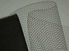 "9"" French birdcage veil netting fabric birdcage bridal veiling hat net 14 colors"