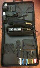 Panduit OptiCam Termination Tool Kit with Carrying Bag and Tools