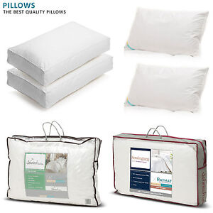 Pure Hungarian Goose Feather Goose Down Pillows Hotel Quality 100% Cotton Cover