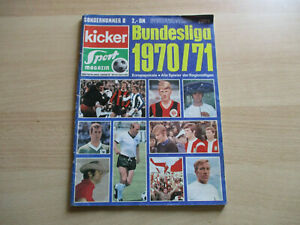 Kicker Sonderheft Bundesliga 70/71 (1970) + Panini + Pelé