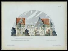 COLOGNE, VILLA BAUGESCHAFT NOCKER - 1902 - PLANCHE ARCHITECTURE - FRANZ BRANTZKY