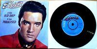 "Near Mint Elvis Presley  OLD SHEP / PARALYSED (PB 9334) 7"" VINYL 45 NM"