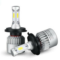 H4 9003 HB2 36W/pc 8000LM LED Headlight Car Hi/Lo Beam Bulbs Light 6000K White