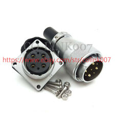 WS28 9Pin Connector, 500V High Voltage Industrial Power Plug Signal Connector