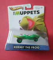 HOT WHEELS - THE MUPPETS - KERMIT THE FROG - LONGUE CARTE 2012 - Y0765 - R 6025