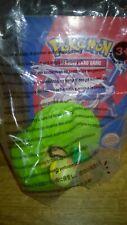 Burger King Pokemon Turtwig Figure & Promo Card Kids Meal Toy Sealed 2008