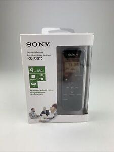 Sony PX Series ICD-PX370 4GB Mono Digital Voice Recorder