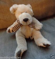 FIRST AND MAIN PLUSH DOLL FIGURE ITEM #1804 NEWTON COLLECTIBLE BEAR STUFFED TOY