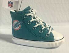 Miami Dolphins Sneaker Ornament Christmas Tree Holiday - Free Shipping