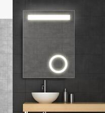 Badspiegel Power LED mit integriertem Kosmetikspiegel Spiegel 60x80 NEU TOP!