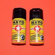 2x NATO  Pfeffer Spray - Dose á 40 ml -  zur Tierabwehr!