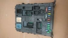 CITROEN PEUGEOT Steuergerat Modules Contrôleur bsi04ev k01-00 FUSE BOX