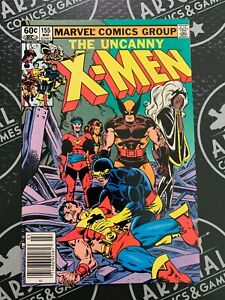 Uncanny X-Men #155 1982 Wolverine Kitty Pryde Storm 1st appearance of the Brood!
