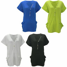 Unbranded Cotton Patternless Casual Dresses for Women