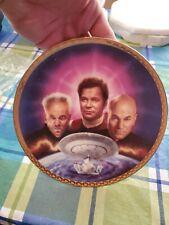 1995 Ultimate Confrontation Star Trek Generation Hamilton Collector Plate St1