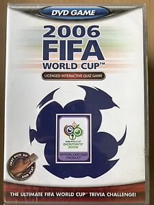 2006 Germany FIFA World Cup DVD Interactive Game Soccer Football Quiz Game BNIB