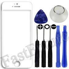 Front Outer Screen Glass Lens Replacement For iPhone 6/6+/5/5S/4/4S White/Black