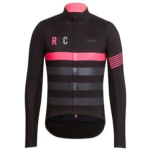 NEW Rapha RCC Men's Cycling Jacket Pro Team Insulated M Black Pink